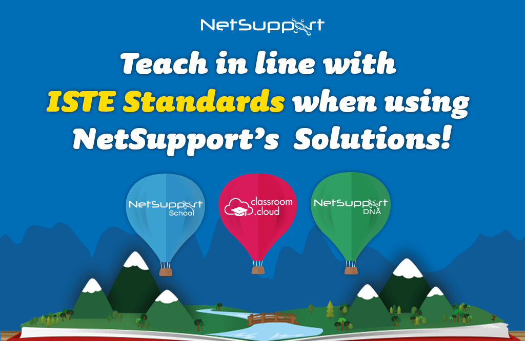 Supporting ISTE Standards with NetSupport…