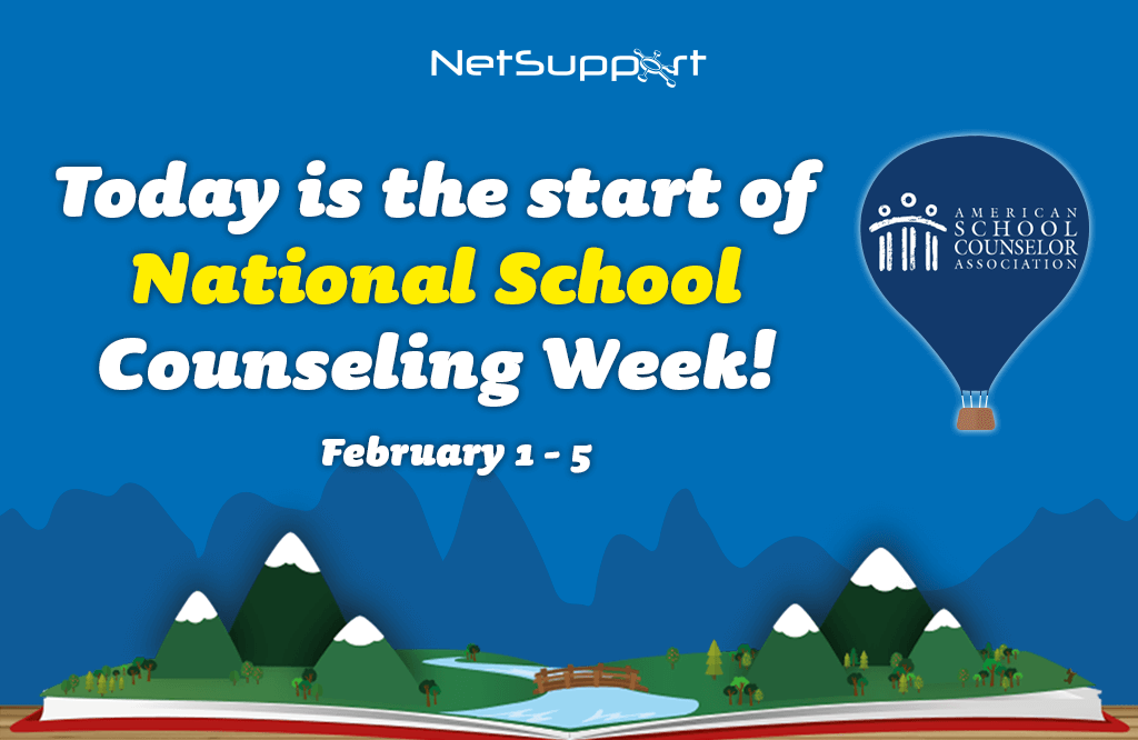 Today is the start of National School Counseling Week!