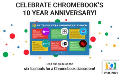 Celebrate Chromebook's 10 year anniversary!