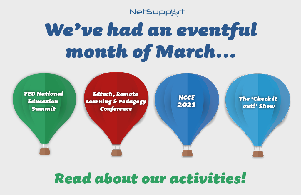 We've had an eventful month of March!