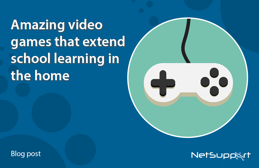 Amazing video games that extend school learning in the home