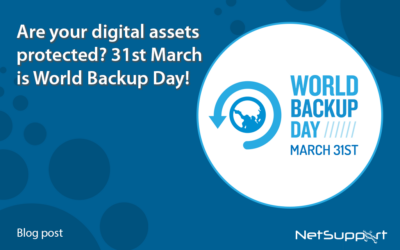 Are your digital assets protected? March 31st is World Backup Day!