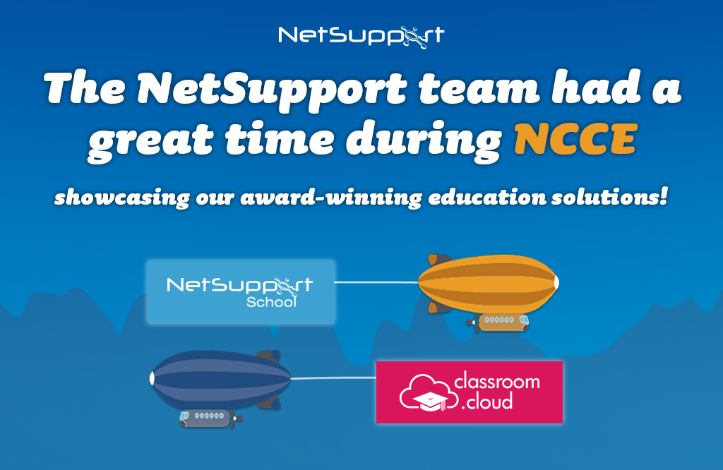 The NetSupport team had a great time during NCCE!