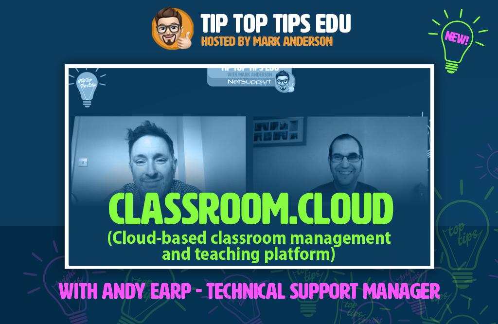 Learn more about classroom.cloud on #TipTopTipsEdu!