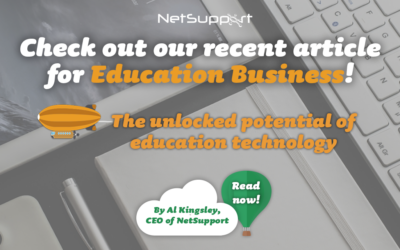Check out our recent article for Education Business!