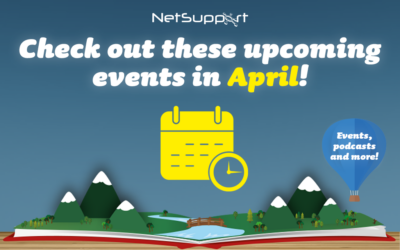 Check out these upcoming events in April!