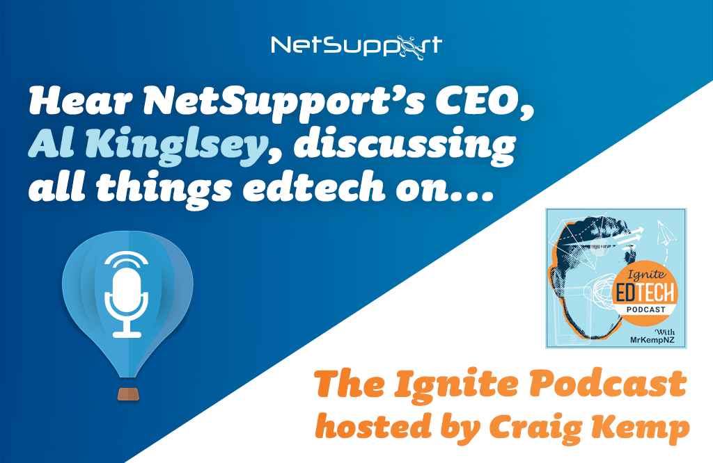 Hear our CEO, Al Kingsley, on The Ignite Podcast!