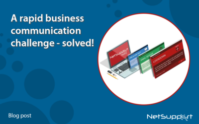 A rapid business communication challenge – solved!
