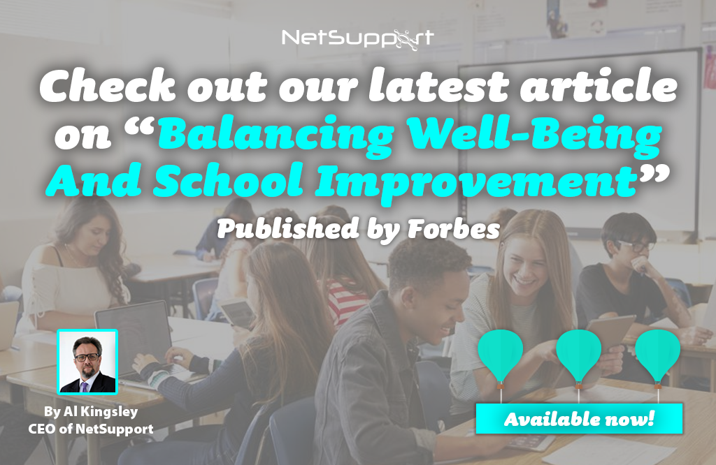 "Check out our latest article on ""Balancing Well-Being and School Improvement"""