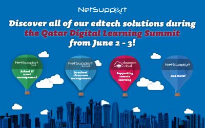 Virtually visit us this week at the Qatar Digital Learning Summit!