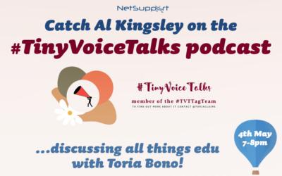 Catch Al Kingsley on #TinyVoiceTalks podcast!