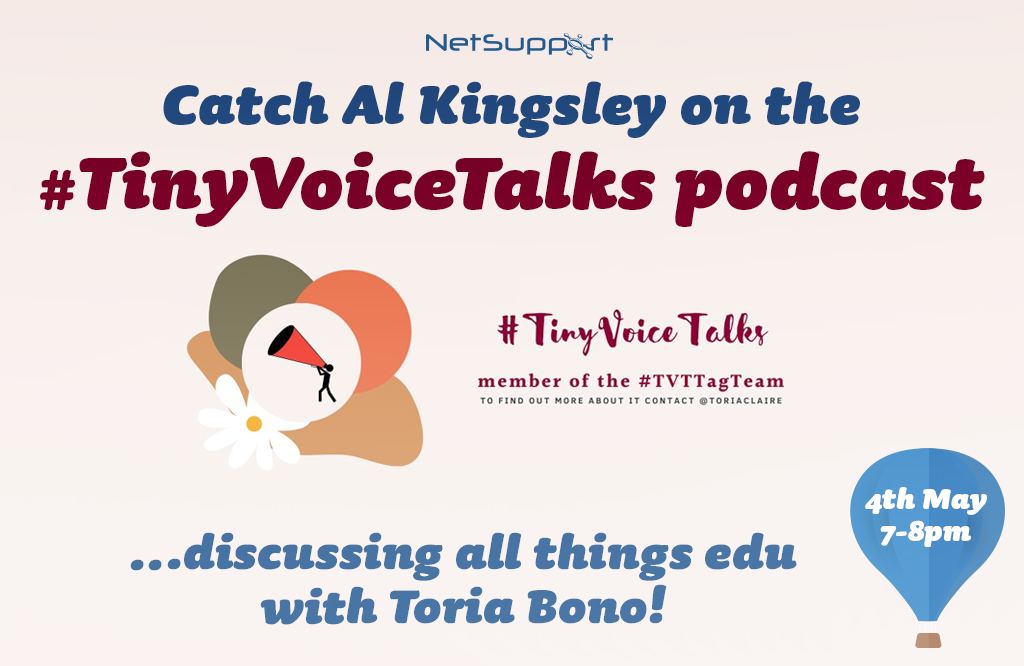 Catch Al Kingsley on #TinyVoiceTalks podcast!