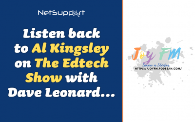 Listen back to Al Kingsley on The EdTech Show with Dave Leonard…