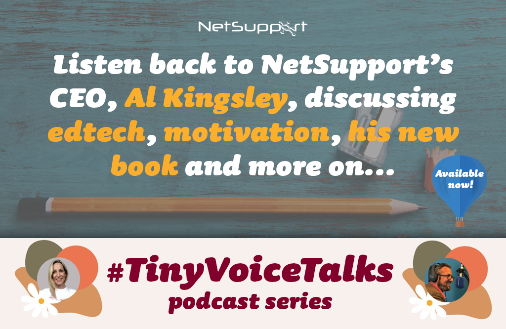 Listen back to our discussion on Tiny Voice Talks podcast!