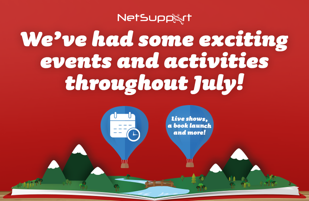 We've had some exciting events and activities throughout July!