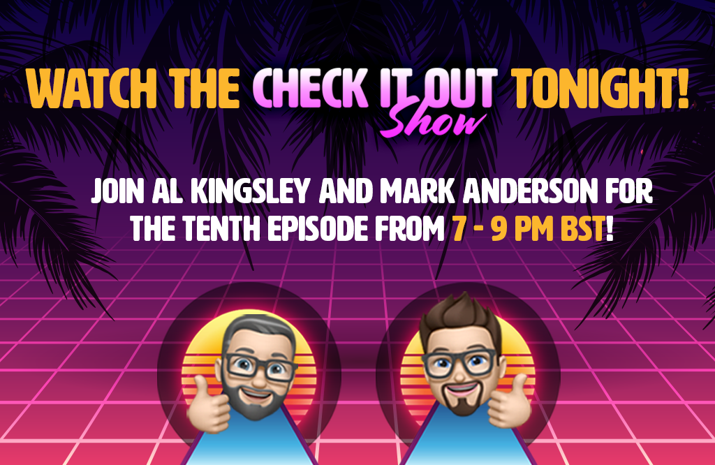 Watch the 'Check it out!' show tonight!
