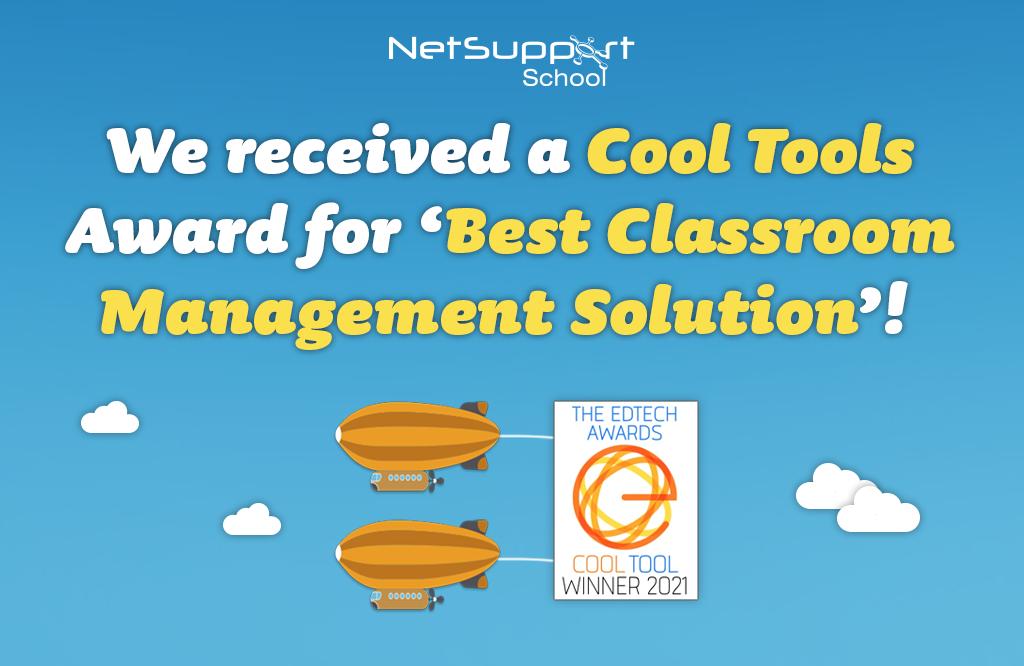 NetSupport School is a winner of The EdTech Awards for Best Classroom Management!