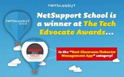 NetSupport School won 'Best Classroom/Behavior Management App or Tool' in the Tech Edvocate Awards!