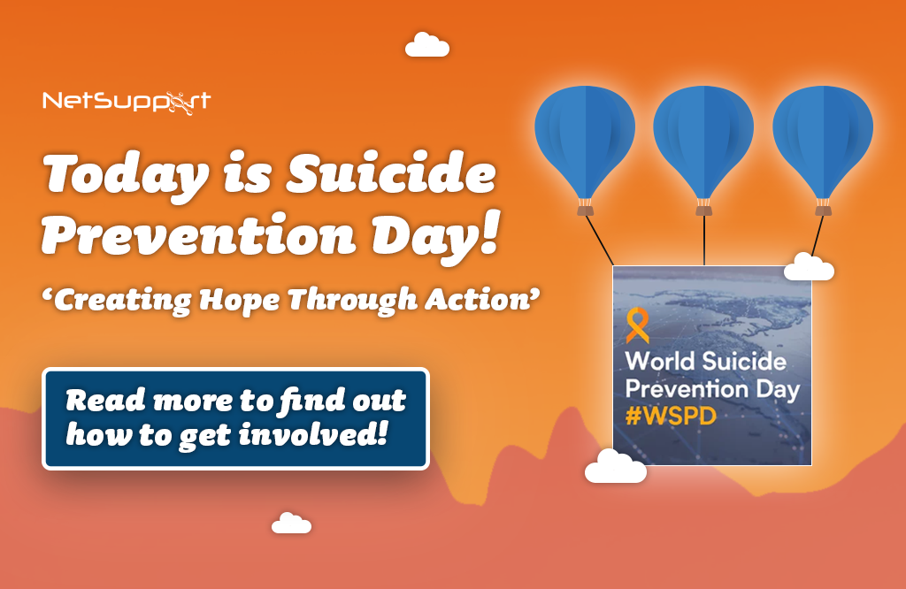 Today is Suicide Prevention Day
