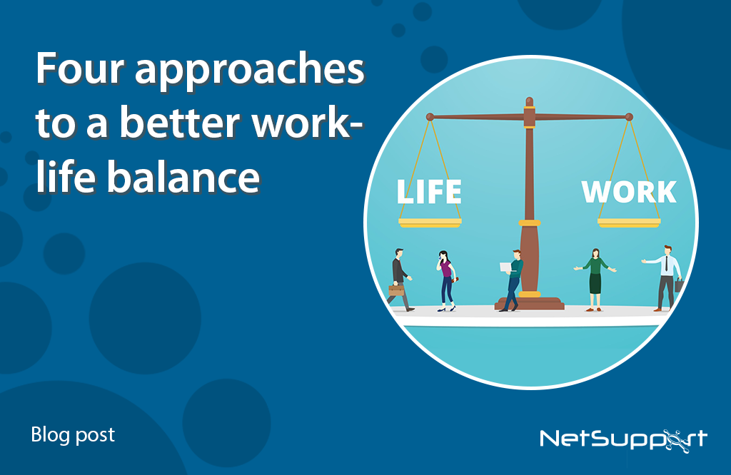 Four approaches to better work-life balance in education